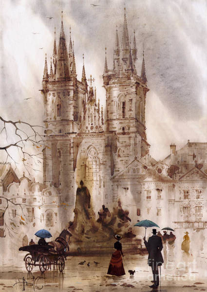 Wall Art - Painting - Prague Iv by Svetlana and Sabir Gadghievs