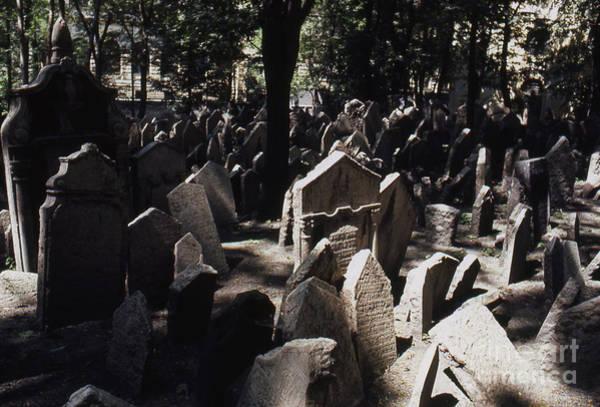 Czechoslovakian Photograph - Prague Jewish Cemetery by Erik Falkensteen