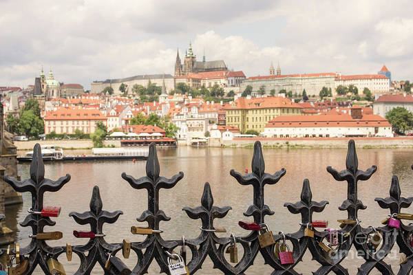 Iron Fence Wall Art - Photograph - With Love From Prague by Juli Scalzi