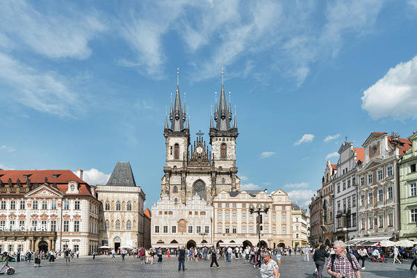 Photograph - Prague Old Town Square by Sharon Popek
