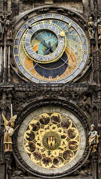 Photograph - Prague Orloj by Heather Applegate