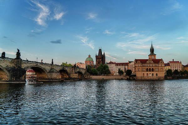 Photograph - Prague Sunset by Sharon Popek