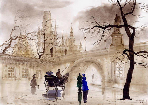 Wall Art - Painting - Prague by Svetlana and Sabir Gadghievs