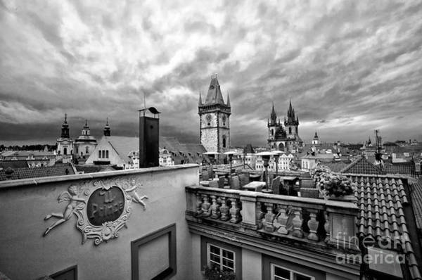 Houses Wall Art - Photograph - Prague View From The Top by Madeline Ellis