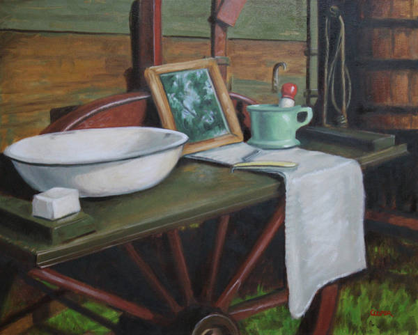 Painting - Prairie Ablutions by Todd Cooper