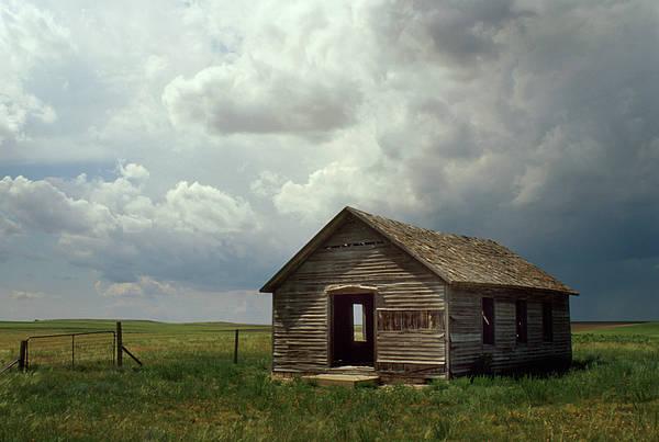 Nebraska Landscape Photograph - Prairie Church by Jerry McElroy