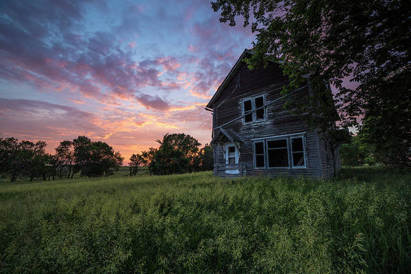 Fire House Photograph - Prairie Dream by Aaron J Groen