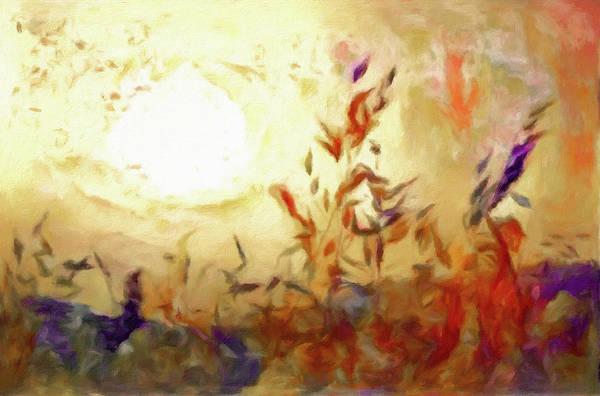 Pastel - Prairie Grass by Susan Maxwell Schmidt