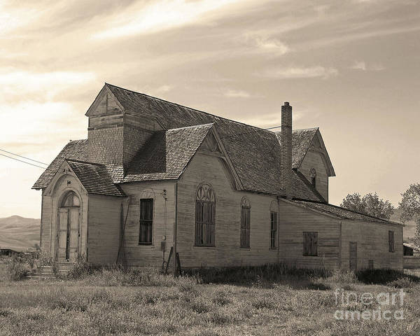 Photograph - Prairie House by Kelly Holm