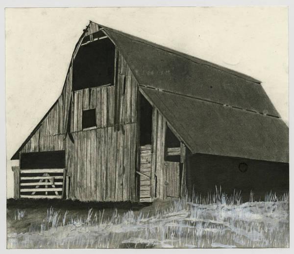 Wall Art - Drawing - Prairie Overlook by Bryan Baumeister