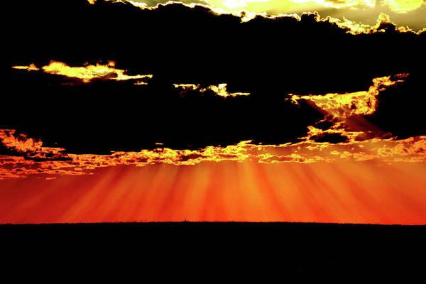 Photograph - Prairie Rays by Frank Vargo
