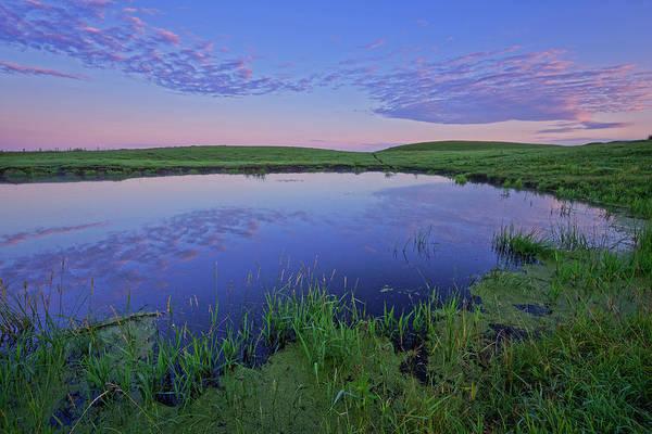 Farm Water Photograph - Prairie Reflections by Dan Jurak