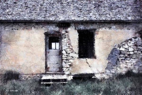Painting - Prairie Relic by RC DeWinter