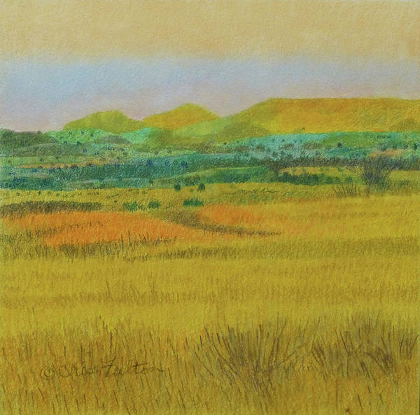 Painting - Prairie Reverie by Cris Fulton