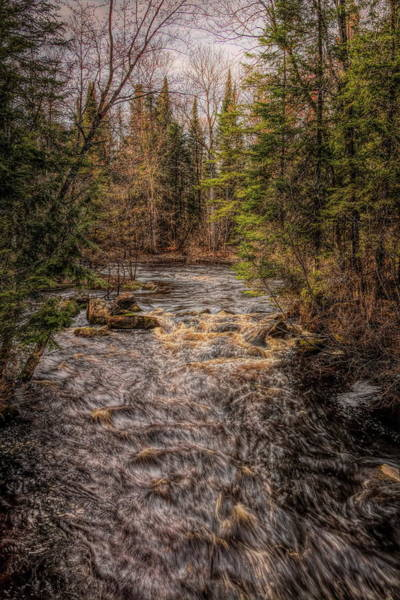 Photograph - Prairie River Spring Flow by Dale Kauzlaric