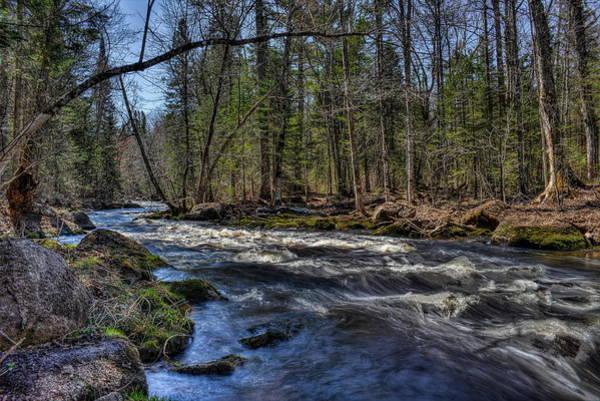Photograph - Prairie River White Riffles by Dale Kauzlaric