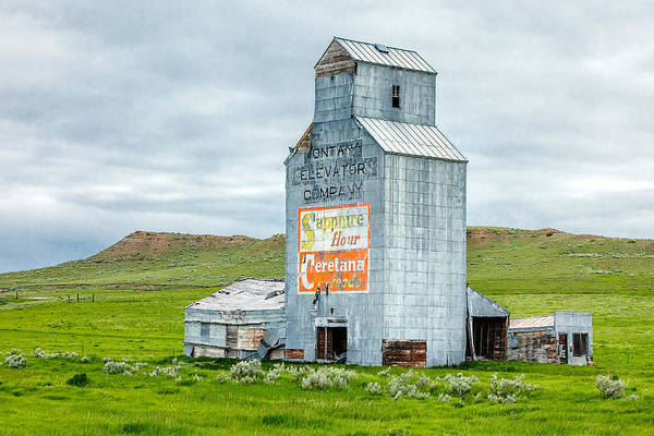 Out Of Business Wall Art - Photograph - Prairie Sentinel by Todd Klassy