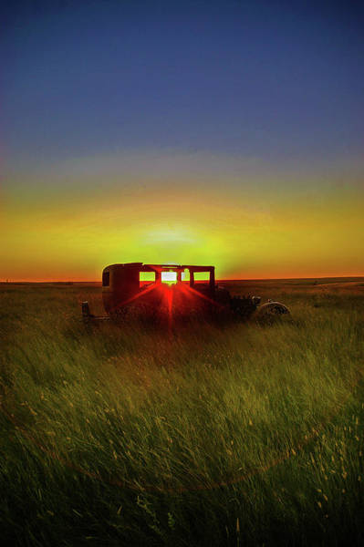 Photograph - Prairie Sunset by Frank Vargo