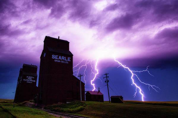 Ian Macdonald Photograph - Prairie Tempest by Ian MacDonald