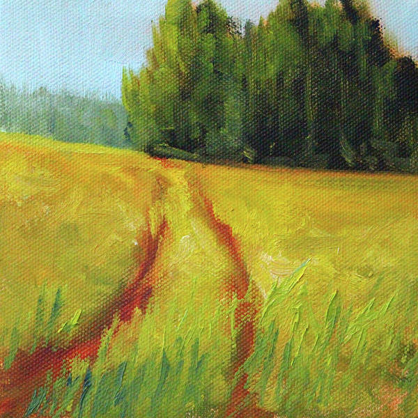 Wall Art - Painting - Prairie Trail by Nancy Merkle