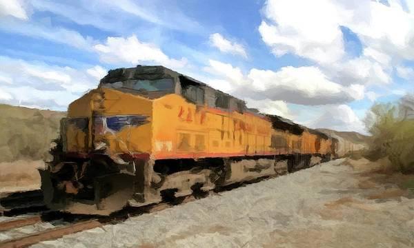 Photograph - Prairie Train Ride  by David Dehner