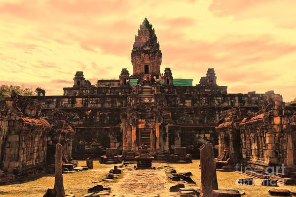 Phnom Penh Wall Art - Photograph - Prasat Bakong Temple I by Chuck Kuhn