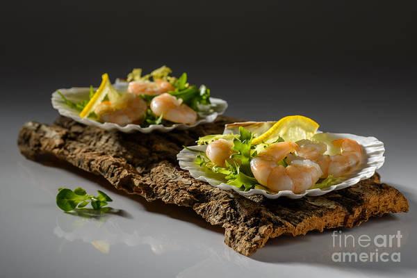 Seafood Photograph - Prawn Salad by Amanda Elwell