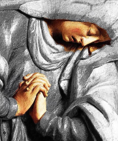 Painting - Pray by Tony Rubino