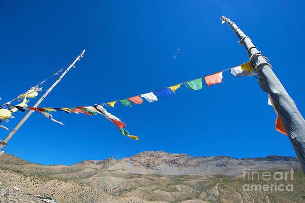Photograph - Prayer Flag by Yew Kwang