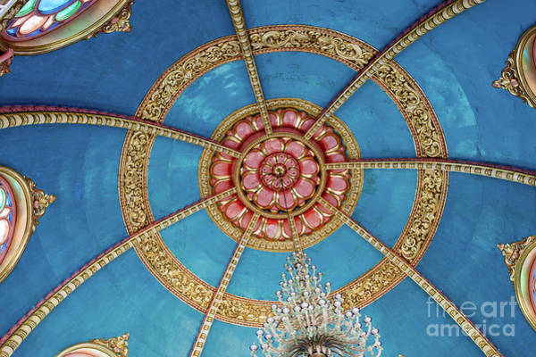 Wall Art - Photograph - Prayer Hall Lotus by Tim Gainey
