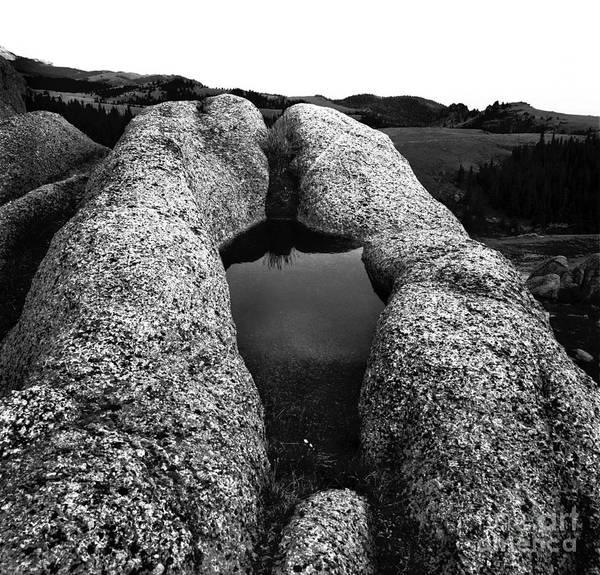 Photograph - Prayer Rock by Craig J Satterlee