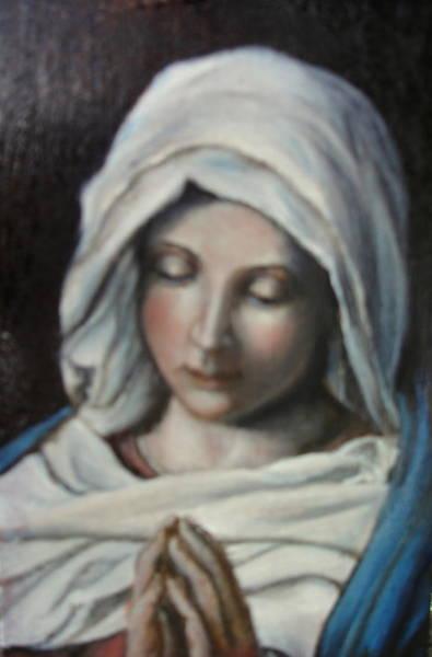 Painting - Prayer by Sorin Apostolescu