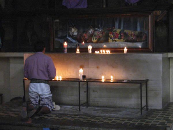 Photograph - Prayer Time Guatemala by Kurt Van Wagner