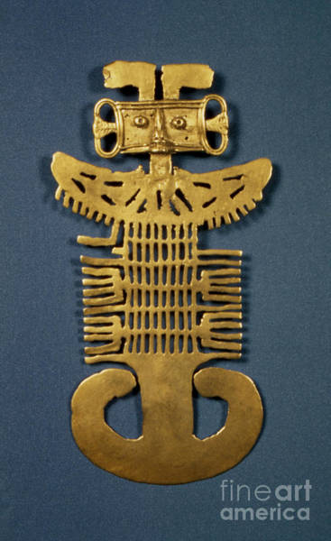 Photograph - Pre-columbian Art by Granger