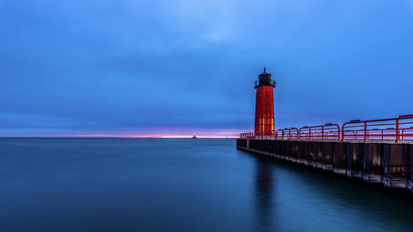 Photograph - Pre-dawn Colors by Randy Scherkenbach