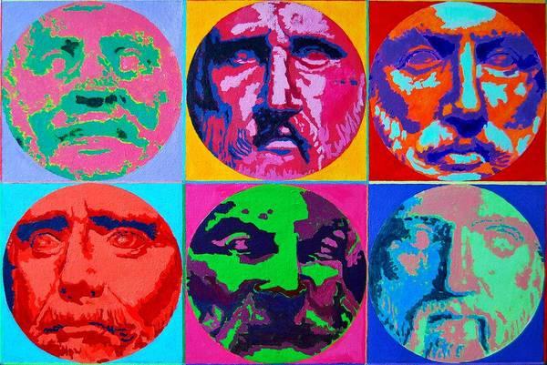 Painting - Pre-socratic Philosophers by Ana Maria Edulescu
