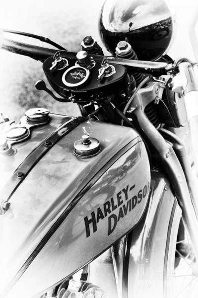 Harley-davidson Photograph - Pre War Hd by Tim Gainey