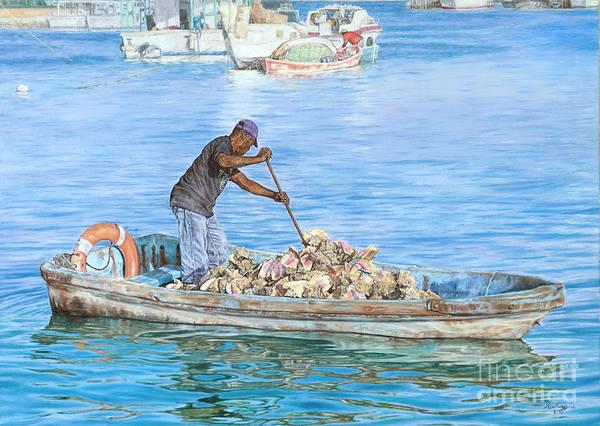Painting - Precious Cargo by Roshanne Minnis-Eyma