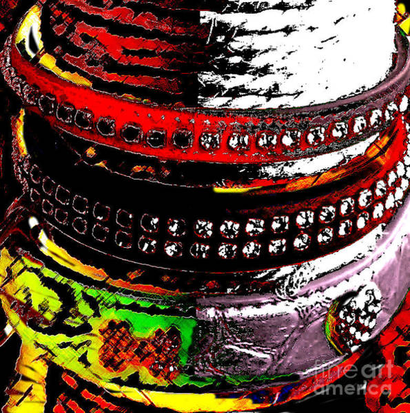 Fashion Plate Digital Art - Precious Jewels For The Best Friend Of Man by Jon Fennel