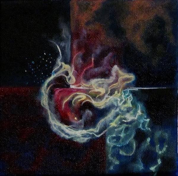 Star Formation Painting - Precious by Kiera Stuart