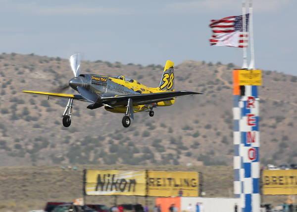 Photograph - Precious Metal At Reno Air Races 2014 by John King