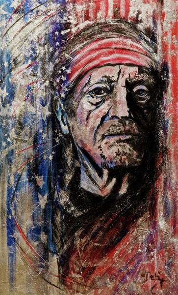 Wall Art - Painting - Precious Metals, Willie by Debi Starr
