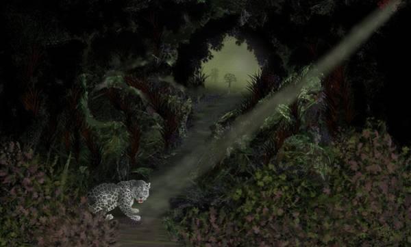 Digital Art - Predator by Tony Rodriguez