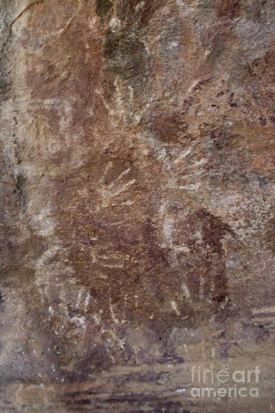 Photograph - Prehistoric Hand Impressions by Hitendra SINKAR