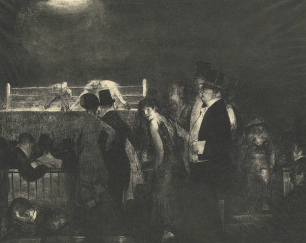 Relief - Preliminaries by George Bellows