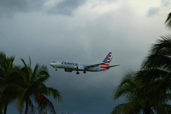 Wall Art - Photograph - Preparing For Landing On Miami Airport by Christiane Schulze Art And Photography