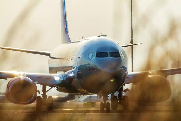 Jet2 Wall Art - Photograph - Preparing For Take-off by Iordanis Pallikaras