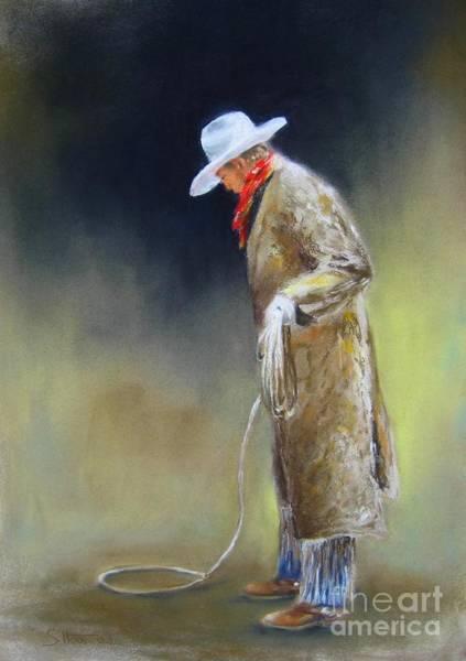 Wall Art - Painting - Preparing The Rope by Sabina Haas
