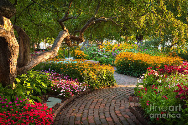 Photograph - Prescott Park Garden 2 by Susan Cole Kelly
