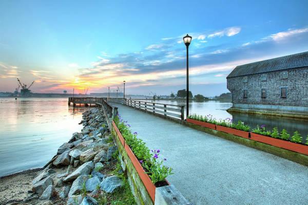 Wall Art - Photograph - Prescott Park Pier by Eric Gendron